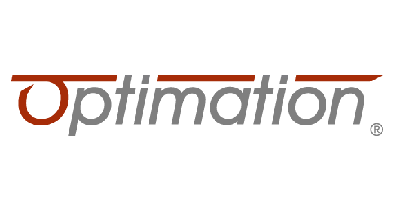 A image showing the Optimation logo